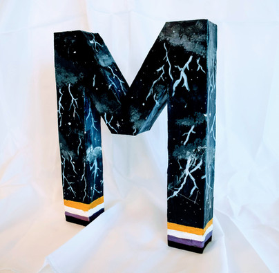 """""""The Lightning M"""" by Madison"""