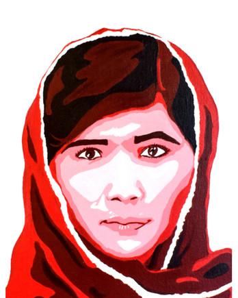 """""""Malala Yousafzai"""" by Kerrigan"""