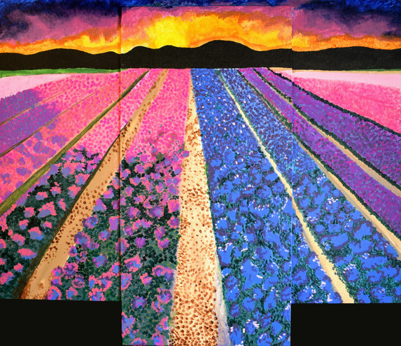 """Flower Lane"" by Gianna"