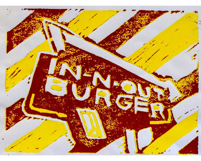 """In-N-Out Burger"" by Maximus"