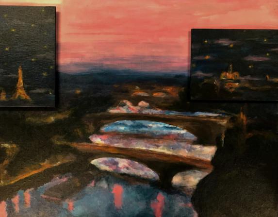 """Paris Sunset"" by Megumi"