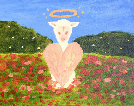 """""""Lamb"""" by Bee"""