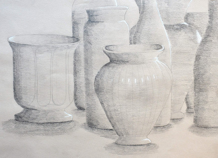 """""""Still Life of Bottles"""" by Katie"""