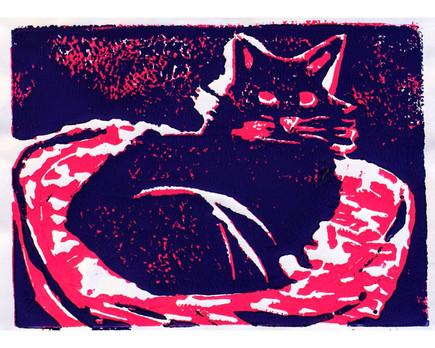 """Chillin like a Feline"" by Brianna"