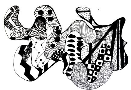 """""""Zentangle"""" by Jovann"""