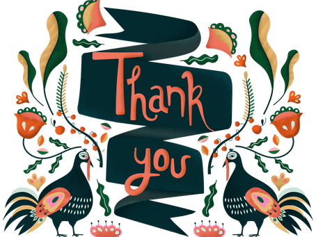 Thanksgiving Thank You from Mrs. Evelyn Educates