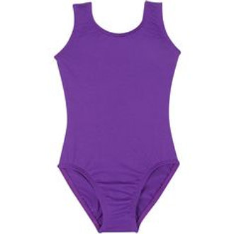 Purple Tank Leotard