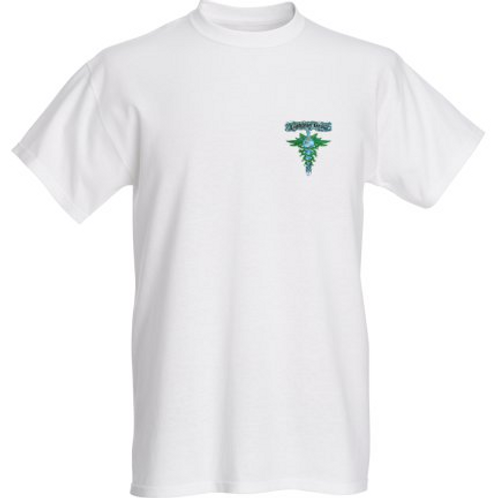 Mens White T-shirt # 1279w5