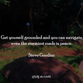 Staying Grounded During These Times