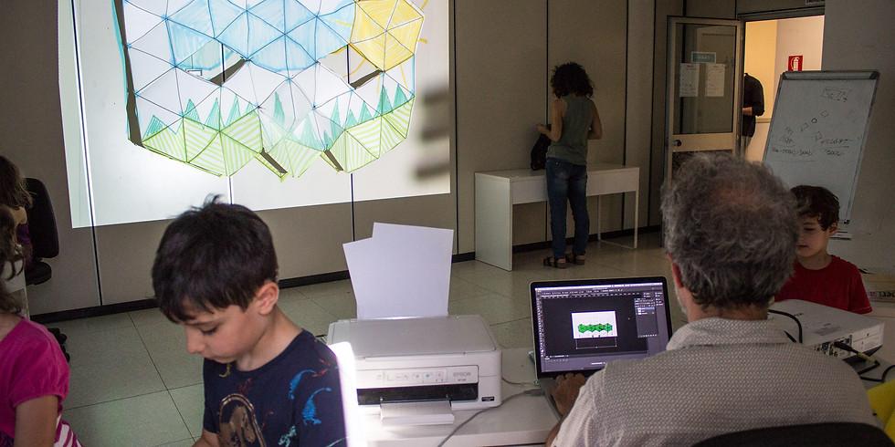 Laboratorio VIDEOMAPPING for KIDS