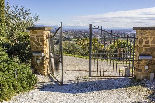 #solar #gate #outdoor #garden #home
