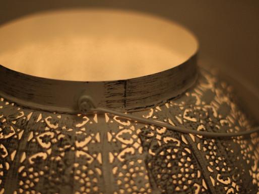 Make a beautiful pattern with a Solar Lantern!