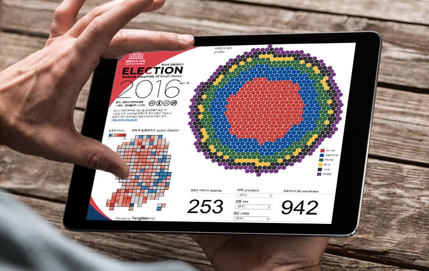 국회의원 선거 2016 데이터시각화 | 탠저블비츠