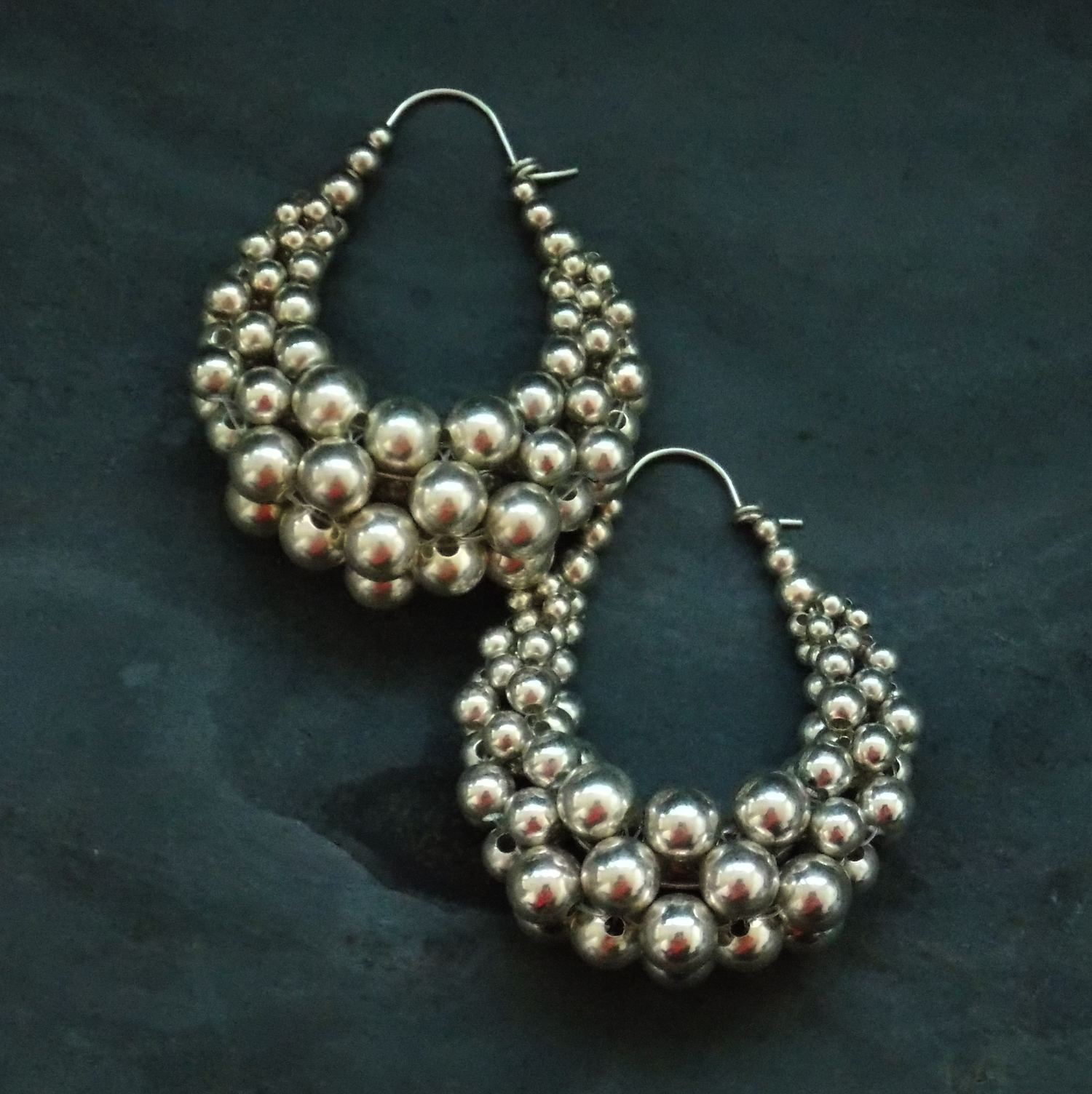 Bubble Basket Earrings - Meduim (2)