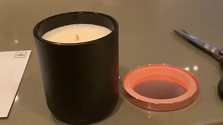30cl Amber Noire Candle Review