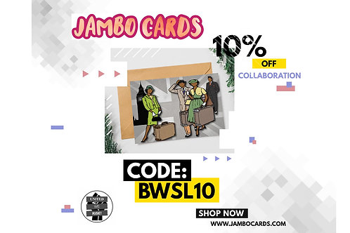 JAMBO CARDS 10% OFF DISCOUNT CODE