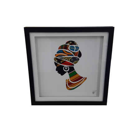 Fabric Of Africa Frames