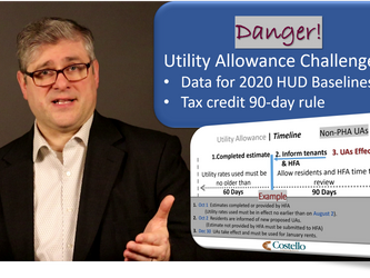 Video Blog 4/29/2020 - Utility Allowance Issues (HUD and Tax Credit)