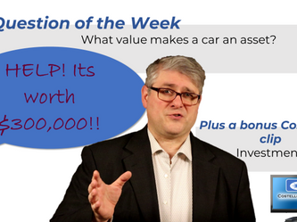 Video Blog 5/20/2020 - What Value Makes Personal Property an Investment?