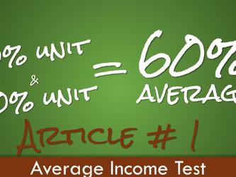 Aspire to Average! - Part 1