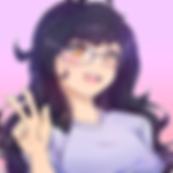 Mimi Self Portrait in Anime Style(tm).pn