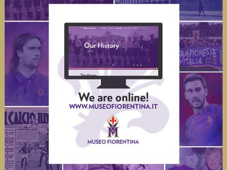 Museo Fiorentina new website