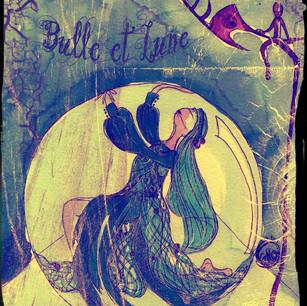 Maquette bulle et lune