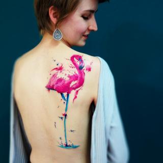 tavarestattoo_flamingo_watercolor-tattoo