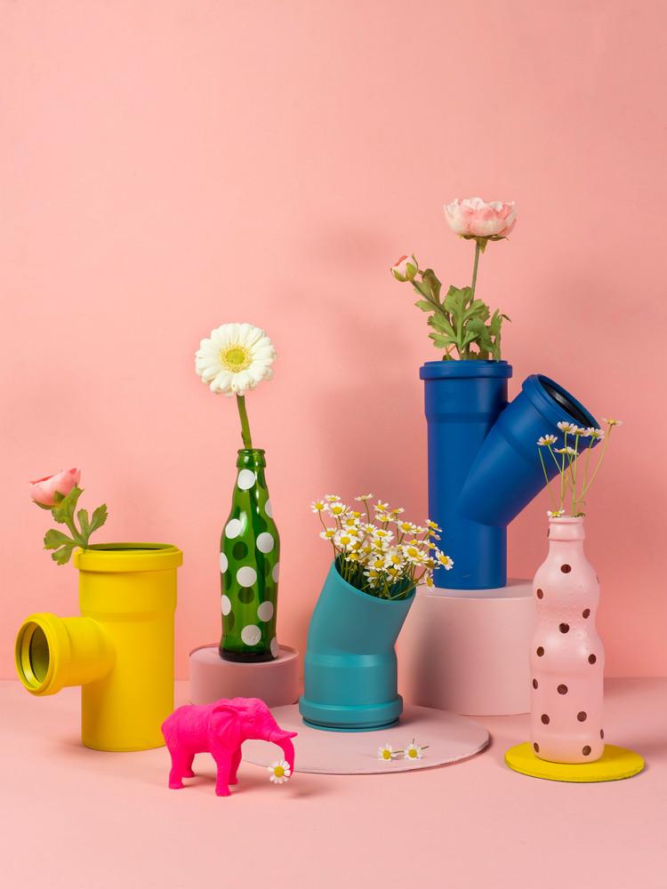 DIY Blumenvasen