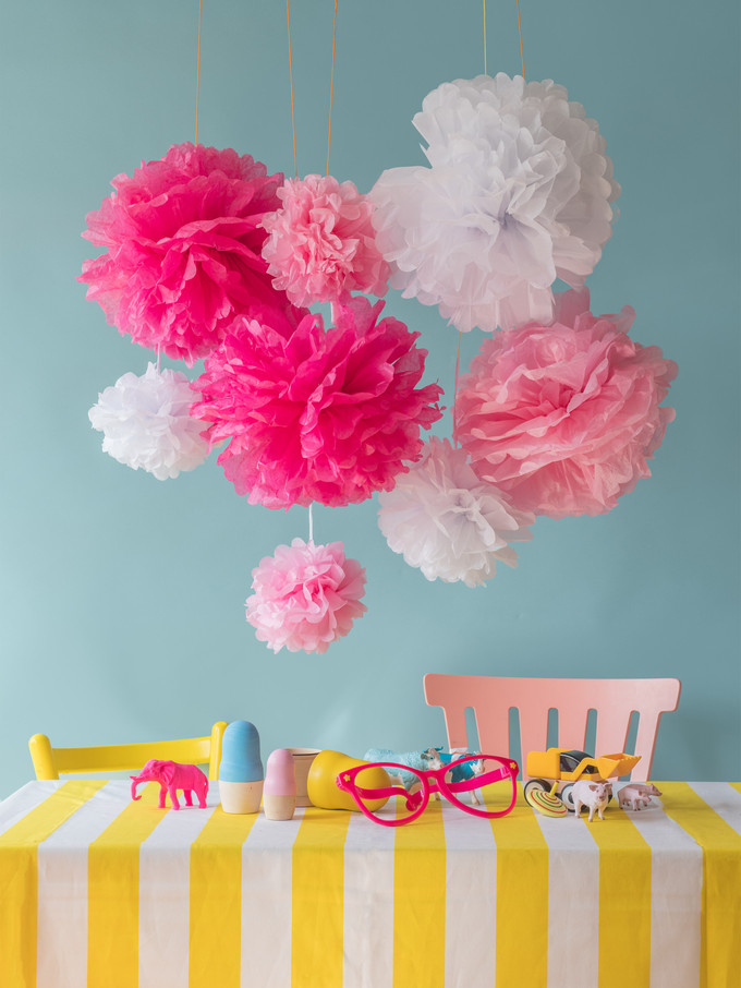 Pompom decoration