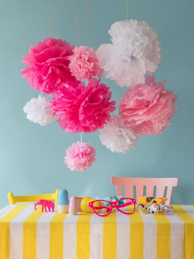Pompom decoration