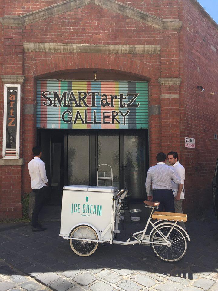 The gelati cart