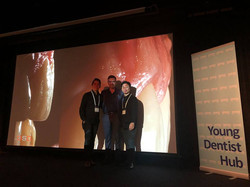 Dr Fadi Yassmin with Dr Koh and Dr Nguye