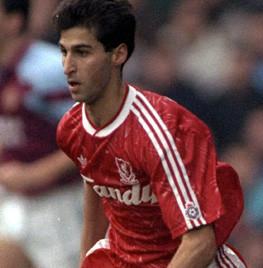 Liverpool debut v Aston Villa