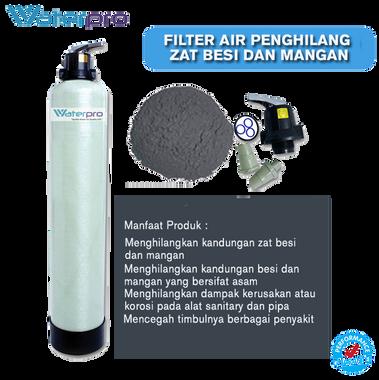 Filter Penghilang Zat Besi dan Mangan