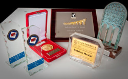 Some of photo-contests trophies