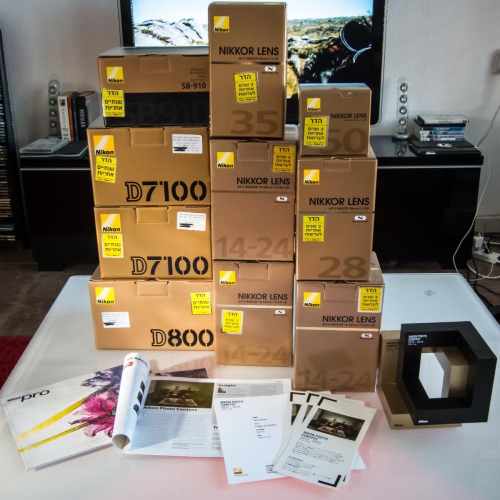 Nikon equipment prize