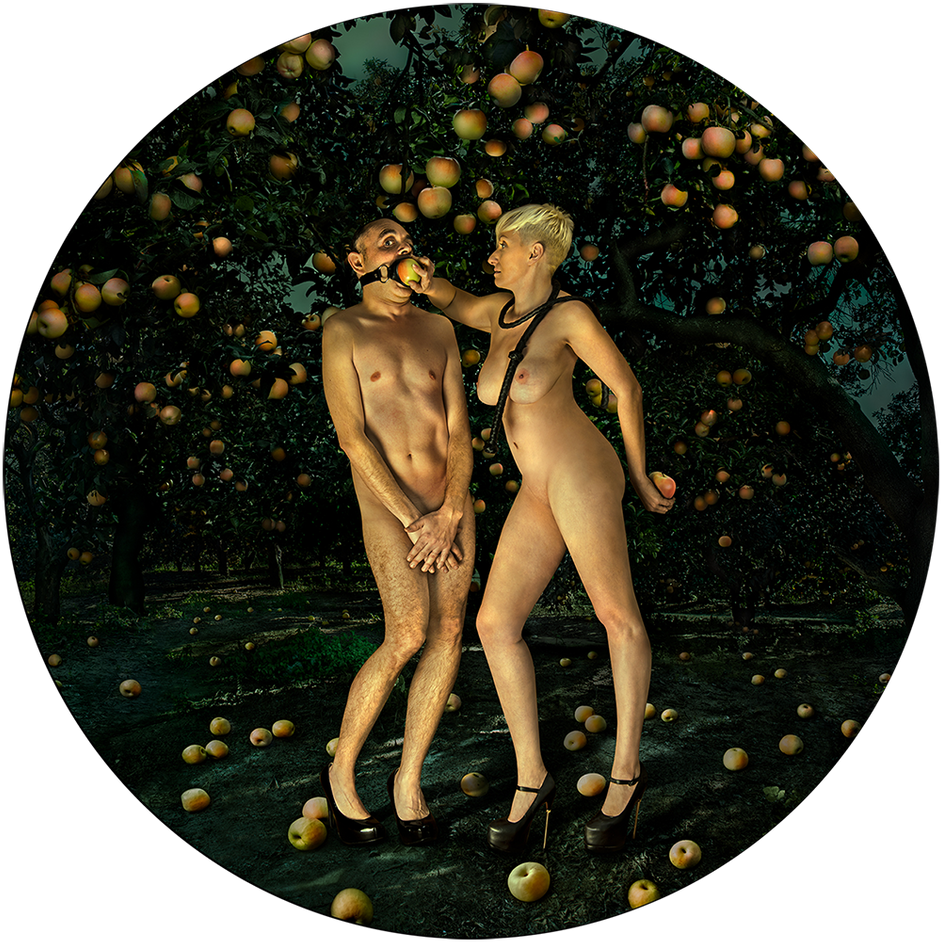 Adam and Eve - Garden of Heavenly Delights