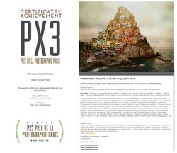 2nd prize winner n PX3-Paris