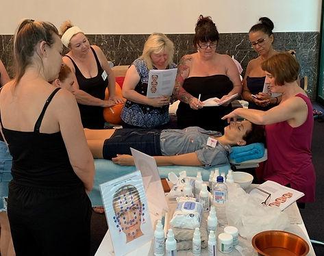 Facial training course