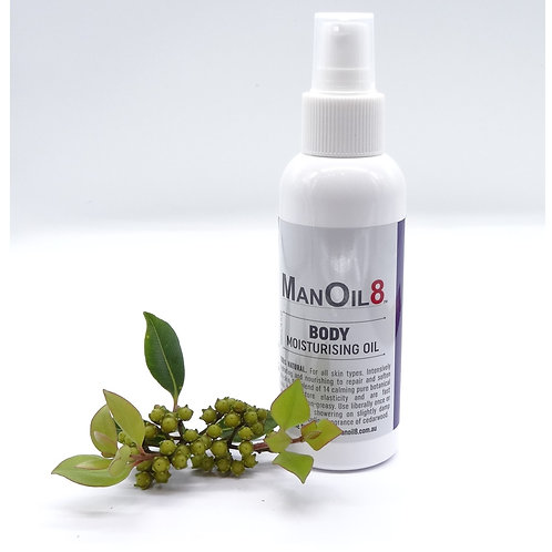 ManOil8 Body Moisturising Oil 120ml