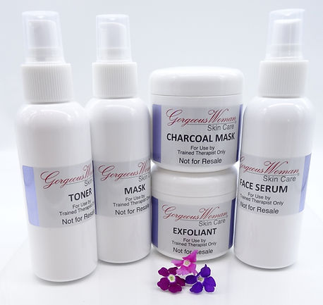 Facial therapy skin care products
