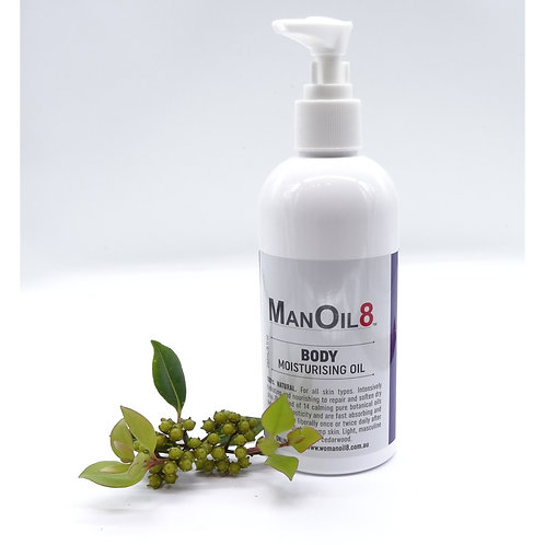 ManOil8 Body Moisturising Oil 240ml