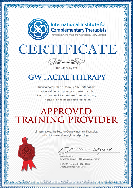 GW Facial Therapy IICT Training Provider