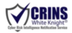 CRINS cyber risk intelligence notification service logo - White Knight