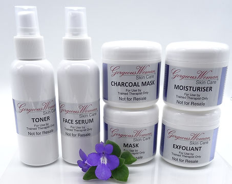 Facial therapist supplies for clinic use only