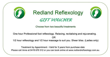 201004 REFLEXOLOGY TEMPLATE GIFT VOUCHER