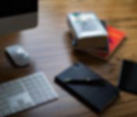 Marco Annunziata's creative desk