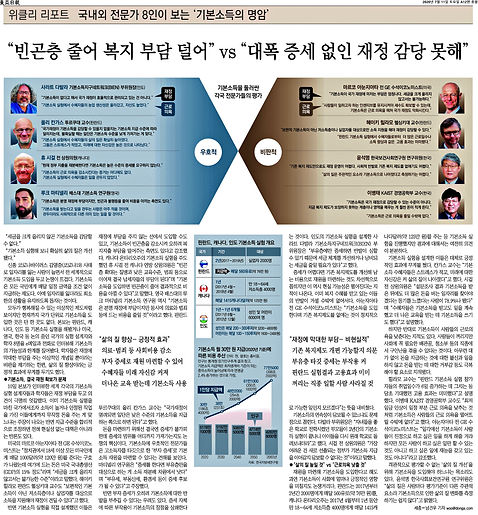 """동아일보_""""빈곤층 줄어 복지 부담"""