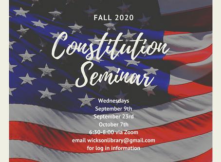 Constitution Seminars